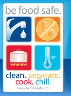 Food safety at home.