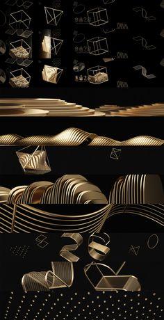 Golden Melody Award 2015 Main Visual on Behance