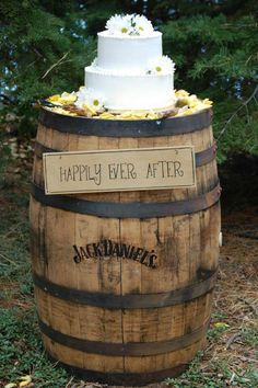 Image result for wine barrel cake stand