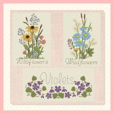 1166-Wildflowers Wildflowers, Machine Embroidery, Embroidery Designs, Quilts, Stitch, Gallery, How To Make, Fun, Image