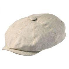 8519139bfac3a Hatteras Linen Newsboy Cap Newsboy Cap