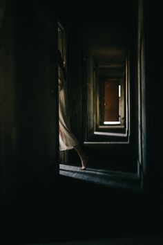 """""""There are things that wait for us, patiently, in the dark corridors of our life."""" - Neil Gaiman (Photo Dark Corridor by Meghan Kay Sadler) Story Inspiration, Writing Inspiration, Layers Of Fear, Narnia, Southern Gothic, House On A Hill, Light And Shadow, Photos, Pictures"""