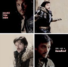 Cassian Andor | Rogue One | Star Wars | Make ten men feel like a hundred |