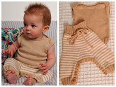 En foto-illustreret opskrift på, hvordan du strikker den sødeste lille babytop, der passer perfekt til sommer...