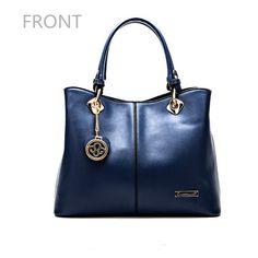 Women PU Leather Elegant Handbags Ladies Shoulder Bags Crossbody Bags - Loluxe - 1