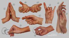 Hand Study 4 by irysching