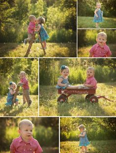 Twin poses, eighteen month portraits, boy girl twins, outdoor kids session, KP Photography in Norfolk, Nebraska