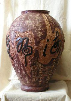 #керамика #творчество #искусство #handmade #ручнаяработа #хэндмэйд #ceramic #ceramics #handcraft #creation #art #vase #pottery #potter #гончарноедело #гончар #иероглифы #Челябинск