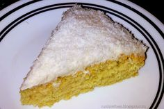 Cut the Wheat, Ditch the Sugar: AhhhMazing Grain Free, Sugar Free, Gluten Free, Dairy Free Frosted Lemon Coconut Cake