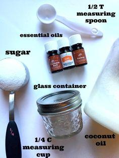 DIY Orange Spice Coconut Oil Body Scrub Recipe - Family Focus Blog