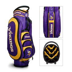 Minnesota Vikings NFL Cart Bag - 14 way Medalist