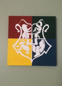 A set of 5 Harry Potter House Crest Minimalistic Hand Painted Acrylic Canvas Vanessa Etienne Pin : A set of 5 Harry Potter House Crest Minimalistic Hand Painted Acrylic Canvas Vanessa Etienne acrylic canvas Crest Etienne hand Harry House minimalist Harry Potter Crest, Harry Potter Canvas, Harry Potter Painting, Arte Do Harry Potter, Theme Harry Potter, Harry Potter Bedroom, Harry Potter Houses, Harry Potter Drawings Easy, Small Canvas Art