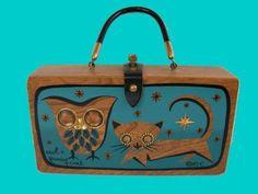 Beautiful Enid Collins box purse