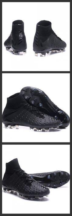 le nuove scarpe da calcio Nike Hypervenom Phantom 3 DF FG sono studiate per ottimizzare la velocità dei tiri e assicurare cambi di direzione rapidi.La tecnologia All Conditions Control (ACC) assicura un controllo di precisione su superfici asciutte e bagnate.Nike Hypervenom Phantom III FG Neymar Scarpe Calcio 2017 Tutto Nero