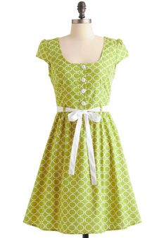 Tile and Tile Again Dress, #ModCloth