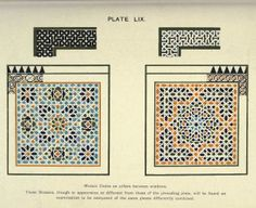 Arabesque design and patterns.