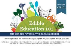 Edible education. links and resources and lesson plan ideas