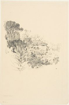 From the Harvard Art Museums' collections A Bit of the Villa Lante, Janiculum, Rome Aspen Hotel, Harvard Art Museum, Line Sketch, Drawing Studies, Paper Dimensions, Flower Pictures, Art Sketchbook, Rome, Contemporary Art