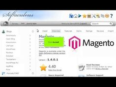View the following tutorial on how to install Magento in 1 minute with 1 click!!  Magento web hosting with http://giganetwebhosting.com Fast and Easy.