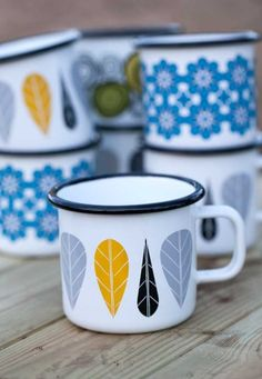 enamelware mugs | collectibles + drinkware