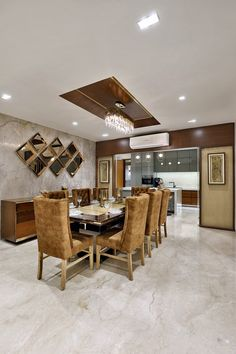 Dinning Table Design, Dining Room Table Decor, Dining Nook, Kitchen Dinning, Room Decor, Home Room Design, Master Bedroom Design, House Design, Wall Design
