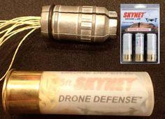 SkyNet, 12-gauge anti-drone shotgun shells, U.S. Air Force