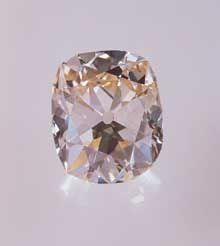 """""""Star of the South"""" - Fancy Pink Color, Cushion cut stone, Type II Diamond"""