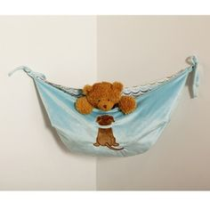 Puppy Pal Toy Bag by zone Grace Place #nursery #decor | #tinytotties