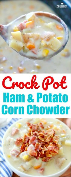 Crock Pot Ham and Po