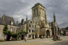 Les plus beaux Villages de Bretagne: Locronan (Finistère)