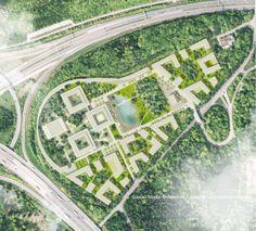 Neubau-Areal Garden Campus Vaihingen: Sieger des Städtebaulichen Wettbewerbs steht fest. Bild: Steidle Architekten https://neubau-stuttgart.de/2016/12/15/neubau-areal-garden-campus-sieger-des-staedtebaulichen-wettbewerbs-steht-fest/