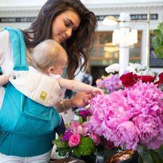 COMPLETE Embossed | best baby carrier, ergonomic, organic, stylish | LÍLLÉbaby