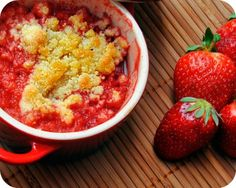 Florida-Strawberry-Dutch-Oven-Cobbler:  Made this last night and it was fabulous!  Did 14 coals on top and 10 on bottom for about 45 min.