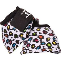 Classic Equine Party Cheetah No-Turn Bell Boots