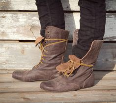 Hand Made Leather  Boots for Woman & Man  TOTI by UrbanBarefoot, ₪750.00