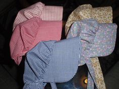 New Fabric Choices Sunbonnet for by alohagirldollclothes on Etsy