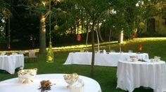 #coctel en el exterior #jardines #parador de #soria #bodas con #encanto