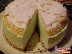 Citromos joghurt torta képes recept