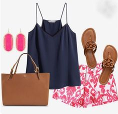 I love this whole outfit. I don't like pink but I like how this tone is incorporated into the outfit.