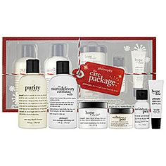 Philosophy - The Care Package Set  #sephora - I love Philosophy products! They all smell great! #SephoraSweeps