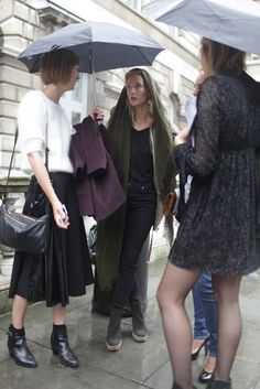 They Are Wearing: #LFW Street Style #wwd