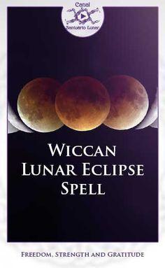 Wiccan Lunar Eclipse Spell (Pinterest)