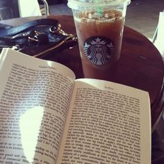 Starbucks and a great read