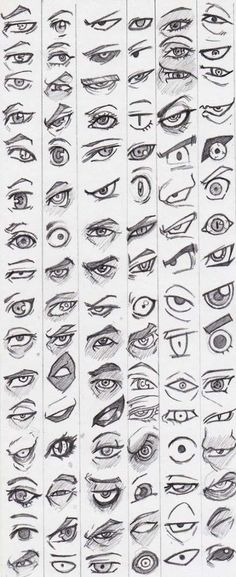 Learn to draw eyes - reference pictures - # learning - . - Learn to draw eyes – reference pictures – – drawings of people Eye Drawing Tutorials, Drawing Techniques, Drawing Tips, Drawing Pictures, Eye Pictures, Drawing Ideas, Cool Pictures To Draw, Eyes Photos, Sketch Ideas