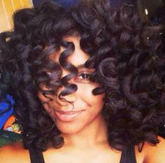 Those curls! #rodset #nappy #curls