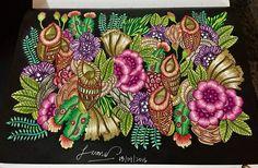 "Color along with @nuralialim @martywoodskk #martywoodskk #exotickingdom #The East Entrance"""