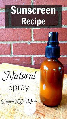 Natural Sunscreen recipe is easy, and this homemade spray sunscreen recipe is effective and nourishing to the skin. Add essential oils for extra benefit. #SkinTagsHomeRemedies Homemade Sunscreen, Spray Sunscreen, Homemade Skin Care, All Natural Sunscreen, Coconut Oil Sunscreen, Sunscreen Lip Balm, Homemade Scrub, Homemade Beauty, After Sun