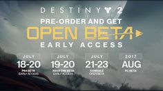Destiny 2 News - Beta Details! What Content to Expect & Bungie Day!