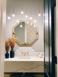 Parade of Homes Tour : Stonegate Condo Bathroom, Bathroom Interior, Bathroom Inspiration, Bathroom Ideas, Bathroom Remodeling, Remodeling Ideas, Mid Century Modern Bathroom, Transitional Bathroom, Parade Of Homes
