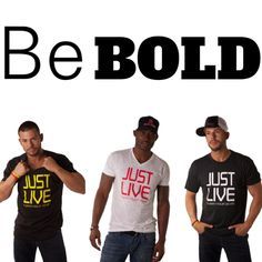 Be BOLD in a JL Tee!